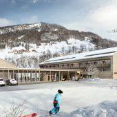 Tanne für neues Hotel in Mellau