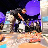 Beim Minigolf-Spiel die Basis für die Karriere gelegt