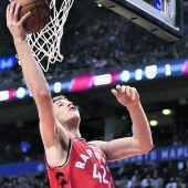 Pöltl war der beste Rebounder Torontos
