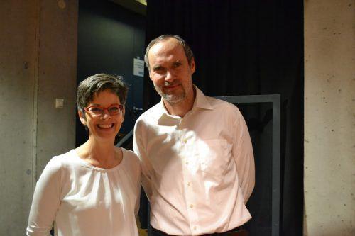 Susanne Mayer und Thomas Greiner freuten sich über das große Interesse.