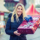 An diesem Wochenende kauft das Christkind die Geschenke