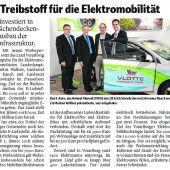 Treibstoff für E-Mobilität