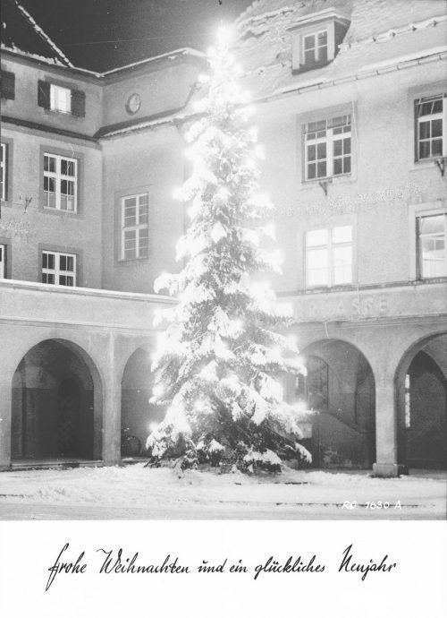 Weihnachtsbeleuchtung der Stadt Bludenz.