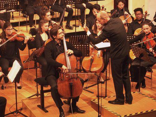 Weihnachtsmatinee des Konservatoriumorchesters mit Mathias Johansen unter Benjamin Lack. JU