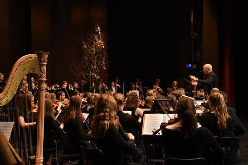 Zum Jahreswechsel lädt das Jugendsinfonieorchester Dornbirn zum traditionellen Neujahrskonzert.                              stadtmarketing Dornbirn/Caroline Begle