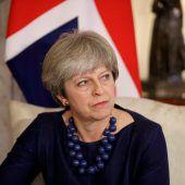 Anschlag auf Premierministerin May verhindert