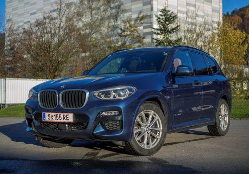 Allrounder im feinen Anzug: Der BMW-Mittelklasse-SUV zelebriert den ebenso dynamischen wie souveränen Auftritt.vn/Paulitsch