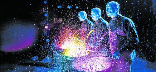 Am Mittwoch, 31. Jänner 2018 präsentiert die Blue Man Group ihre Erfolgsshow im Festspielhaus Bregenz. veranstalter