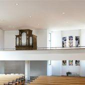 Restaurierte Orgel für Pfarrkirche Tisis
