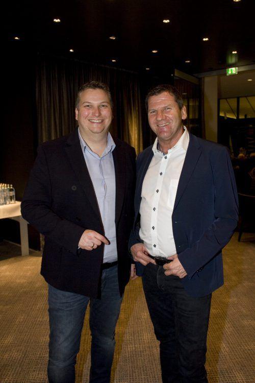 Begeistert: Joachim Singer (l.) und Werner Metzler.