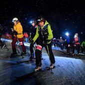 Start frei für die Frauen Skitour Gaudi in Gargellen