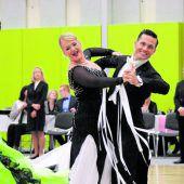 Tänzer bitten auf das Parkett beim Westdance in Hohenweiler