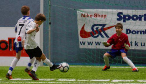 Bild aus dem Spiel der U-13-Mannschaften von BW Feldkirch und SCR Altach. Paulitsch