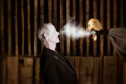 Christoph Bochdansky ist als Mitbegründer des Festivals auch Stammgast beim Homunculus-Festival. Theater am Saumarkt