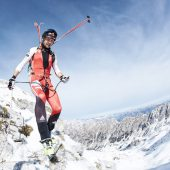 Im Nationalteam für Skibergsteigen