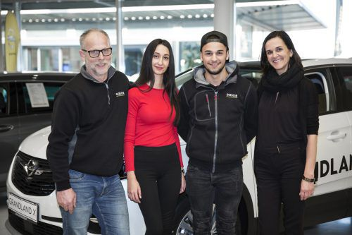 """Das Autohaus Gerster ist """"Ausgezeichneter Lehrbetrieb"""" seit Bestehen der Initiative. E. Vatansever"""