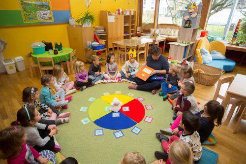 Das Land zahlt 60 Prozent der Kindergartenpersonalkosten. VN/Paulitsch
