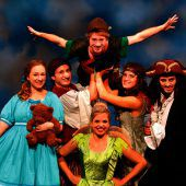 Peter Pan-Musical im Montforthaus