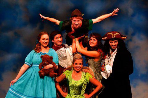 """Das Musical """"Peter Pan"""" entführt auf die Abenteuer-Insel der Fantasie. THEATER LIBERI"""