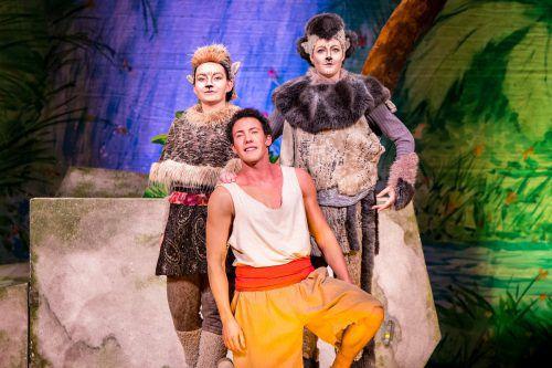 """Das Theater Liberi zeigt eine humorvolle, actionreiche und bunte Version des Märchenklassikers """"Das Dschungelbuch"""".Peter Harbauer"""