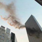 Trump Tower in Flammen