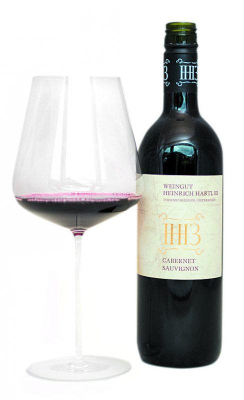 Der Cabernet Sauvignon vom Weingut Heinrich Hartl. VN/Rhomberg