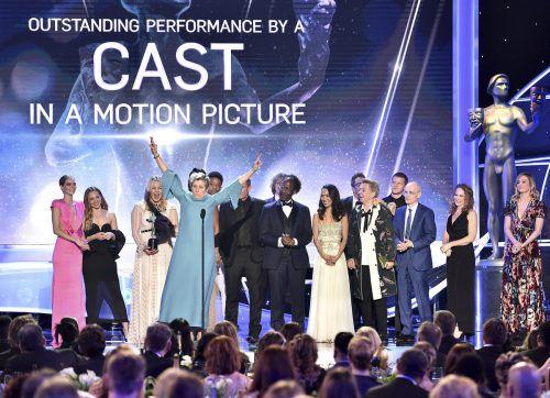 """Der Film """"Three Billboards Outside Ebbing, Missouri"""" hat bei den SAG Awards abgeräumt. Sie gelten als Barometer für die Oscar-Verleihung. ap"""