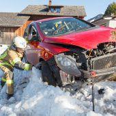 Führerschein-Neuling in Raggal schwer verletzt