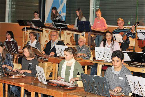 Der Vorarlberger Zithertag findet in der Musikhauptschule Lingenau statt.
