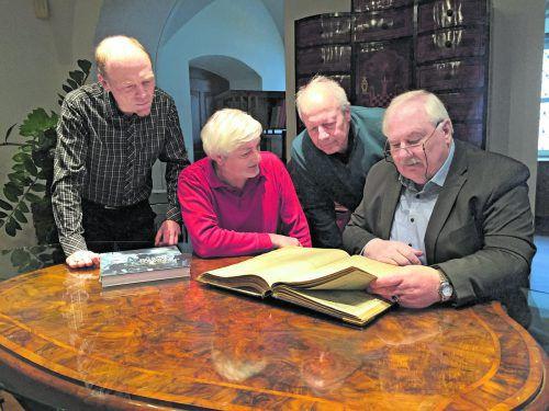 Die Dornbirner Geschichtswerkstatt betreibt Stadtgeschichtsforschung und sorgt für die Bewahrung historischen Kulturguts. VN/Haller