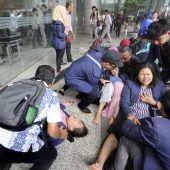 Verletzte nach Börsen-Einsturz