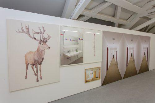 """Die Ergebnisse des letzten """"SilvrettAtelier"""" im Montafon trieben 2017 so manchen ins Künstlerhaus Palais Thurn und Taxis in Bregenz. VN/Paulitsch"""