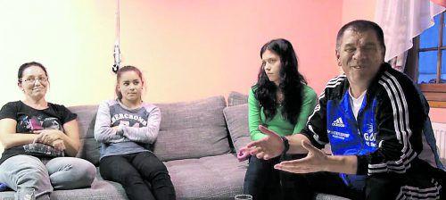 Die Familie Shabanei war jahrelang auf der Flucht. Mittlerweile sehen sich die Familienmitglieder als echte Schrunser.