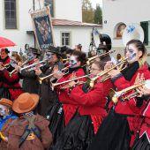 Guggentreffen mit Guggenparty in Bregenz und Lochau