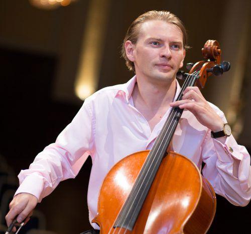 """Die neue Konzertreihe """"Liechtensteinische Gesprächskonzerte"""" wird heute feierlich vom preisgekrönten Cello-Virtuosen Fjodor Elesin eröffnet.fjodor elesin"""