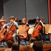 Musikschule bietet Schnupperkurse für Streicher an