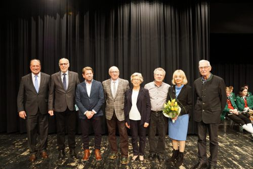 Die Seniorenbörse Leiblachtal erhielt den Sozialpreis der Marktgemeinde Hörbranz. chf
