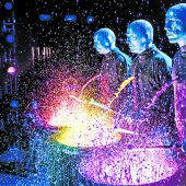 Die Blue Man Group gastierterstmals in Bregenz