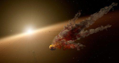Diese Illustration der Nasa zeigt den Stern mit der Katalognummer KIC 8462852, der auch Tabbys Stern genannt wird.AFP/NAsa