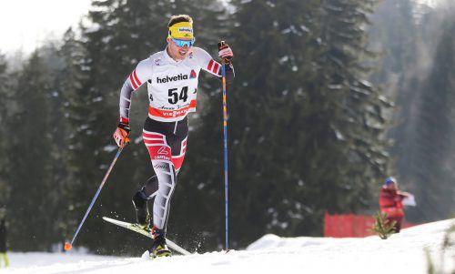 Dominik Baldauf sprintete zu Weltcuppunkten.gepa