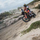 Walkner bei der Dakar nun Gesamtvierter