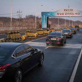 Nordkorea nimmt an Olympischen Winterspielen in Südkorea teil
