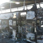 52 Menschen starben in brennendem Bus in Kasachstan