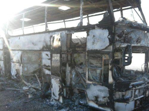 Ersten Ermittlungen zufolge könnte ein Kabelbrand Ursache für den Brand sein. Reuters