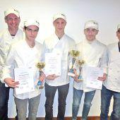 Bäckerlehrlinge im Wettbewerbsfieber