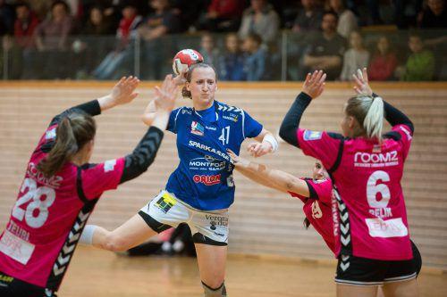 Laura Seipelt unterstrich mit elf Toren ihre Goalgetterqualitäten. VN/Sams