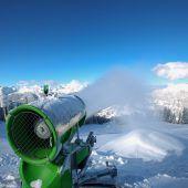 Beschneiung sichert Wintersaison ab. D1