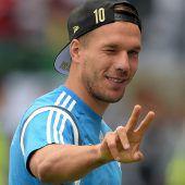Poldi wird Döner-Chef