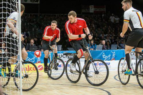 Ein letztes Mal gemeinsam auf der Weltcupbühne: Patrick Schnetzer und Markus Bröll vom RC Höchst.VN/Sams