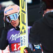 Stefan Kraft (Bild) nicht im Finale. ÖSV-Adler erlebten in Garmisch ein Debakel. C1